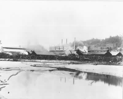tideflats steel mill